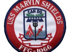 USS MARVIN SHIELDS FFG-1066 Patch – Sew On