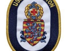 USS HALYBURTON FFG-40 Patch – Sew On