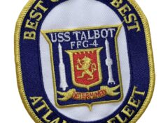 USS Talbot FFG-4 Patch – Sew On
