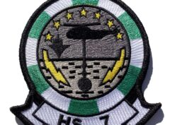 HS-7 Dusty Dogs Squadron Patch – Sew On