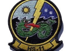 HS-11 Dragonslayers Squadron Patch – Sew On