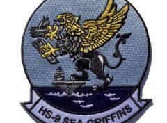 HS-9 Sea Griffins Squadron Patch – Sew On