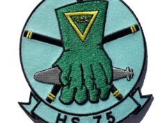 HS-75 Emerald Knights Squadron Patch – Sew On