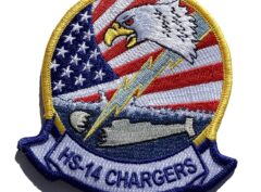 HS-14 Chargers Squadron Patch – Sew On