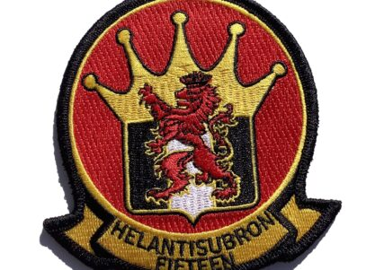 HS-15 Red Lions Squadron Patch – Sew On