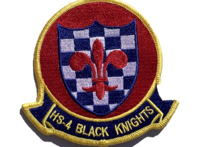 HS-4 Black Knights Squadron Patch – Sew On
