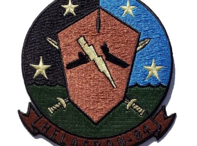 HS-84 Thunderbolts Squadron Patch – Sew On