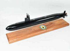 USS San Juan SSN-751 (Black Hull) Submarine Model