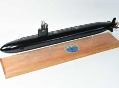 USS Albany SSN-753 (Black Hull) Submarine Model