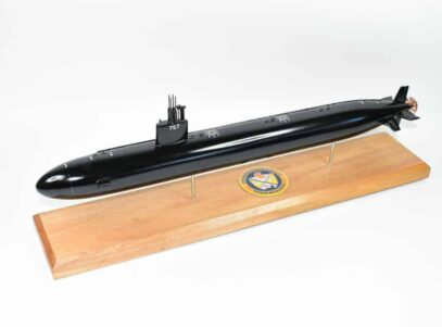 USS Alexandria SSN-757 (Black Hull) Submarine Model