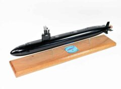 USS Springfield SSN-761 (Black Hull) Submarine Model