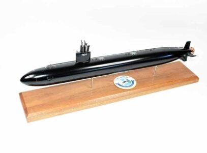 USS Boise SSN-764 (Black Hull) Submarine Model