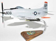 VA-105 Gunslingers A-1H Skyraider Model