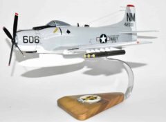 VA-196 Main Battery A-1H Skyraider Model