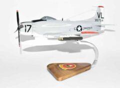 VMA-331 Bumblebees A-1H Skyraider Model