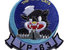 VP-63 Mad Cats Squadron Patch – Sew On
