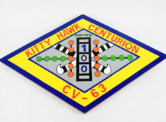 USS Kitty Hawk CV-63 Centurion Plaque