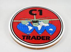 C-1 Trader Plaque