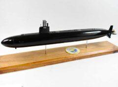 USS Toledo SSN-769 (Black Hull) Submarine Model