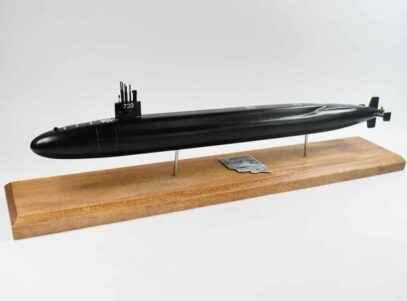 USS Nevada SSBN-733 Submarine Model (Black Hull)