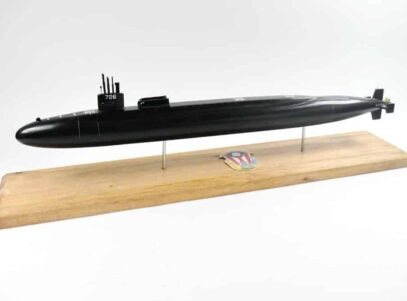 SSGN-726 USS Ohio Submarine Model (Black Hull)