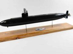 USS Scranton SSN-756 (Black Hull) Submarine Model