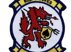 HCS-4 Red Wolves Squadron Patch – Sew On