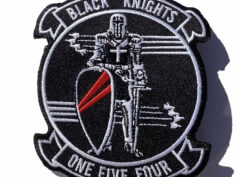 VFA-154 Black Knights Squadron Patch – Sew On