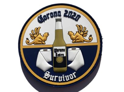 I Survived the Corona Pandemic of 2020 PVC with Hook and Loop