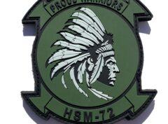 HSM-72 Proud Warriors PVC Glow in the dark Patch – Sew On