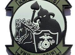 VMM-164 (REIN) Knightriders 15th MEU (Glow in the Dark) PVC Patch – Sew On