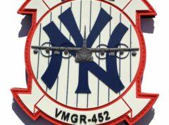 VMGR-452 Yankees PVC Glow Patch – Hook and Loop