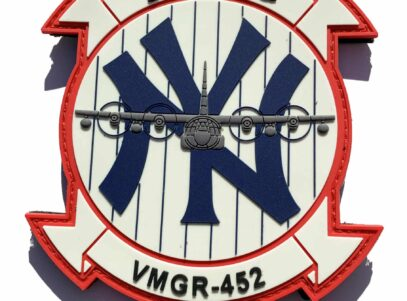 VMGR-452 Yankees PVC Glow Patch – Hook and Loop