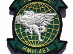 HMH-463 Pegasus PVC Patch –Hook and Loop