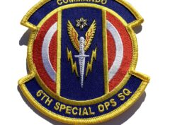 6th Special Operations Squadron Patch – Sew On
