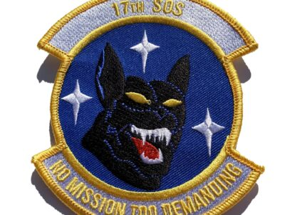 17th Special Operations Squadron Patch – Sew On