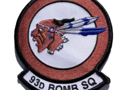 93d Bomb Squadron Patch – Sew On