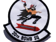 20th Bomb Squadron Patch – Sew On