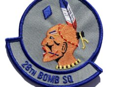 28th Bomb Squadron Patch – Sew On – Sew On