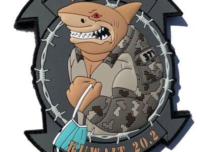 MWSS-371 Sand Sharks PVC patch