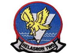 HS-2 Golden Falcons Squadron Patch – Sew On
