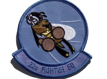 22d Fighter Squadron Patch – Sew On
