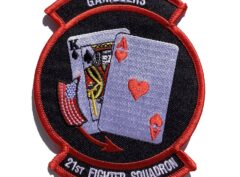 21st Fighter Squadron Gamblers Patch – Sew On