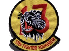 13th Fighter Squadron Patch – Sew On