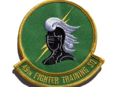 49th Fighter Training Squadron Patch – Sew On