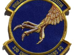 33d Special Operations Squadron Patch – Sew On