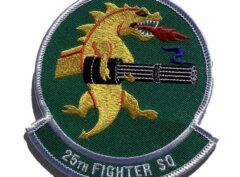 25th Fighter Squadron Patch – Sew On