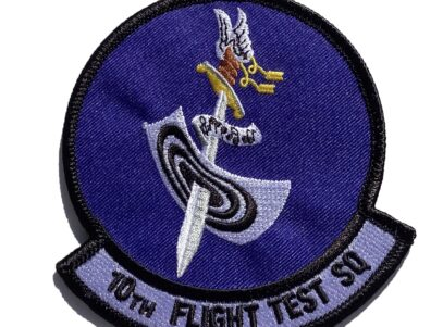 10th Flight Test Squadron Patch – Sew On