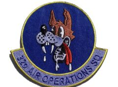 32d Air Operations Squadron Patch – Sew On