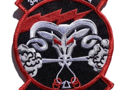 34th Fighter Squadron Rude Rams Patch – Sew On